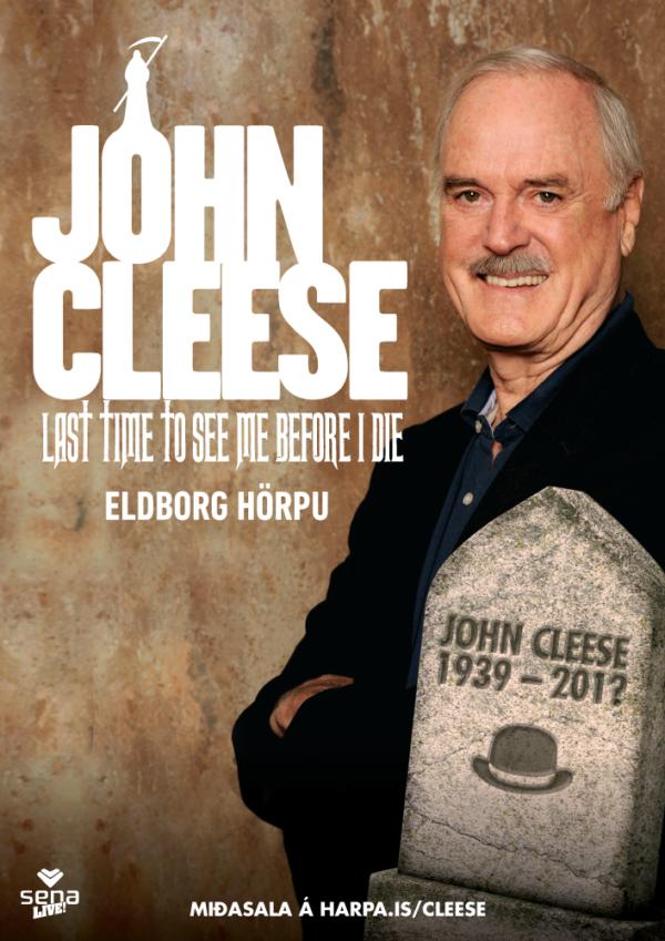 John Cleese í Hörpu poster image