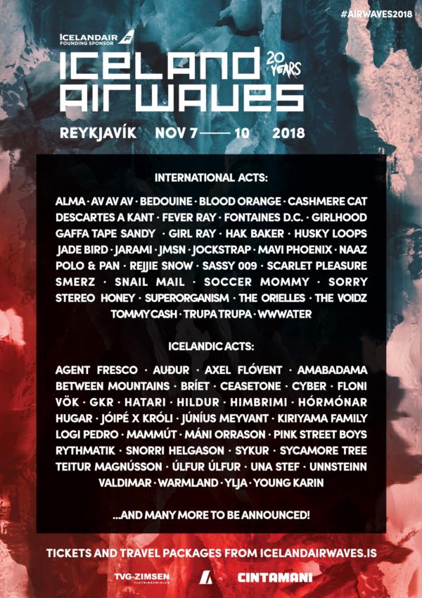 Iceland Airwaves 2018 poster image