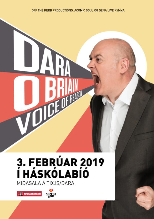 Dara O Briain í Háskólabíói | Voice of Reason poster image
