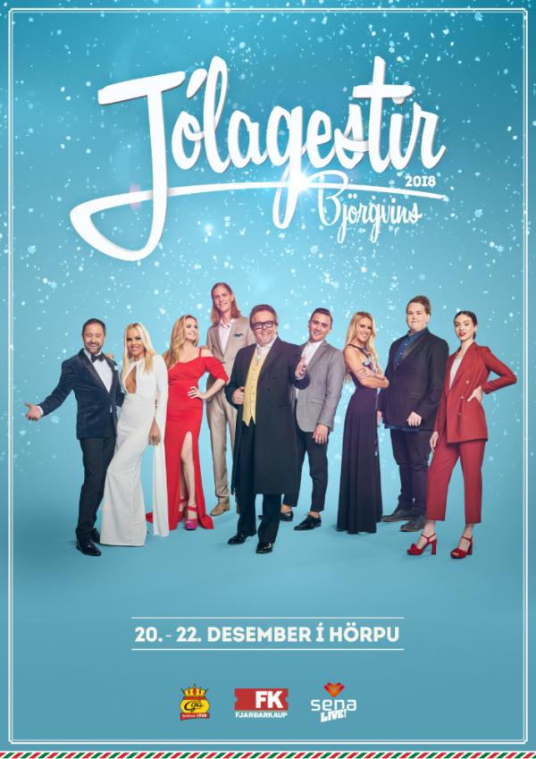 Jólagestir Björgvins 2018 poster image