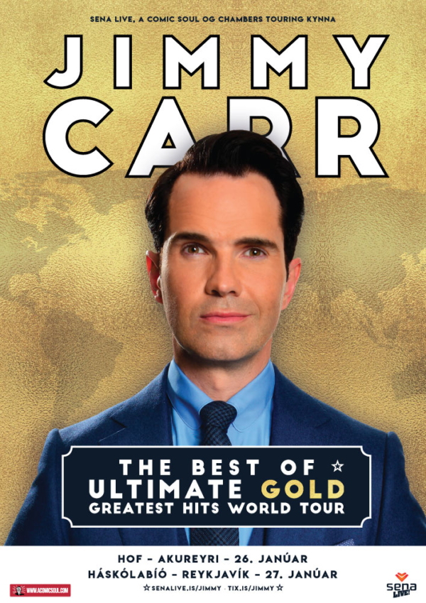 Jimmy Carr: The Best Of, Ultimate, Gold, Greatest Hits World Tour poster image