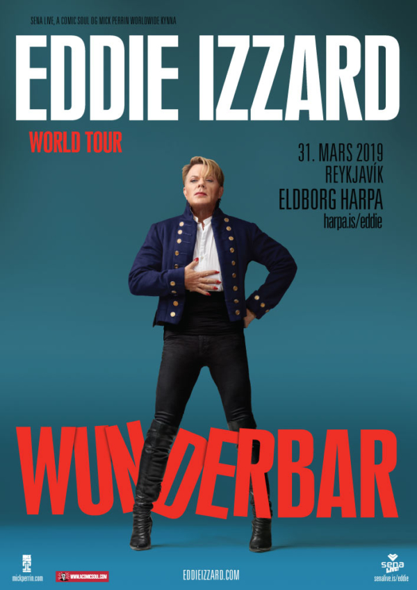 Eddie Izzard í Eldborg: Wunderbar poster image