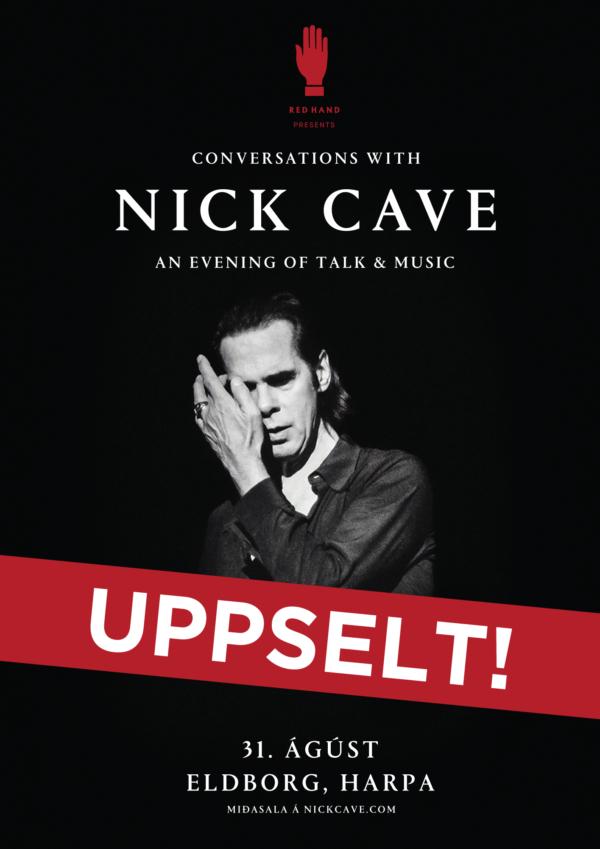 Nick Cave í Eldborg poster image