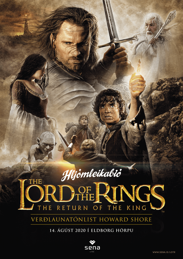Hljómleikabíó: The Lord of the Rings: The Return of the King poster image