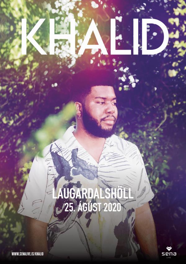 Khalid í Laugardalshöll poster image