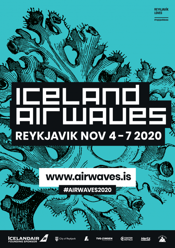 Iceland Airwaves 2020 poster image