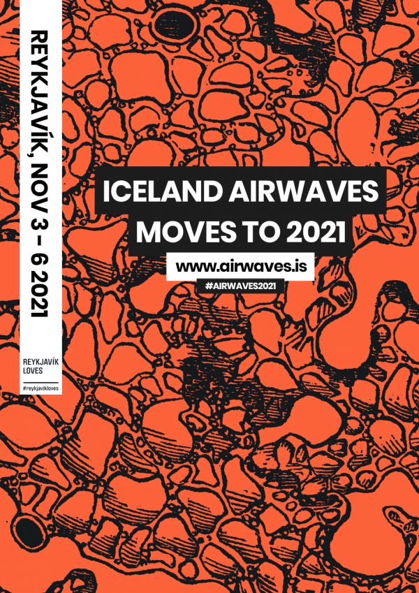 Iceland Airwaves 2021 poster image