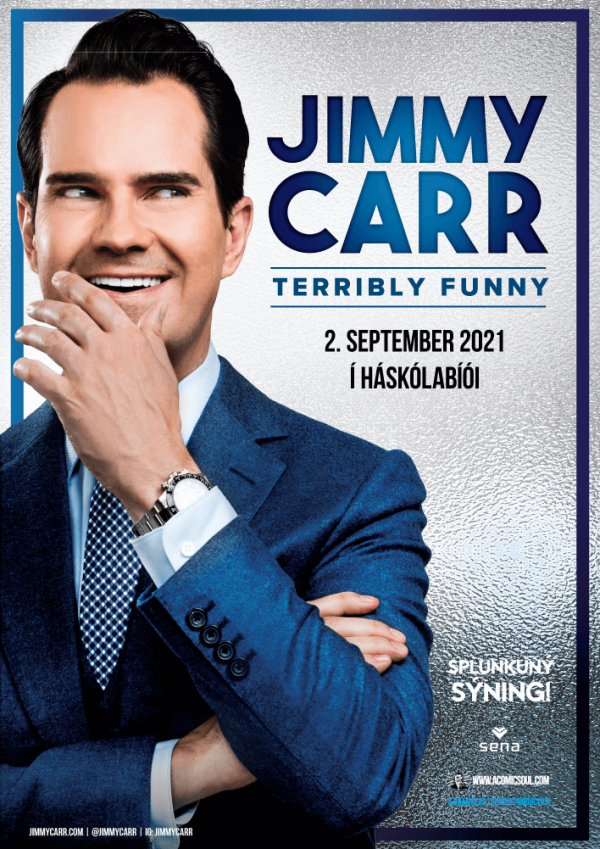 Jimmy Carr – Terribly Funny poster image