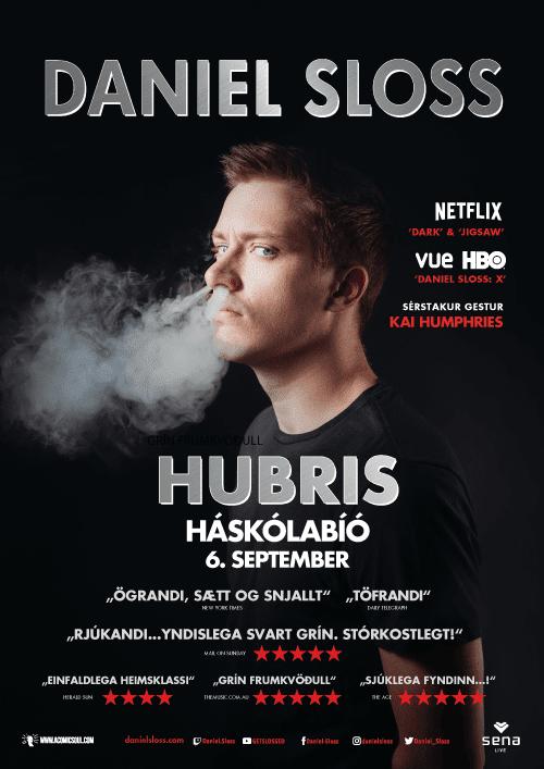 Daniel Sloss – HUBRIS poster image